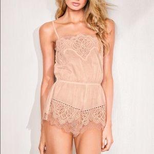 Victoria's Secret Romper Pajamas Lingerie
